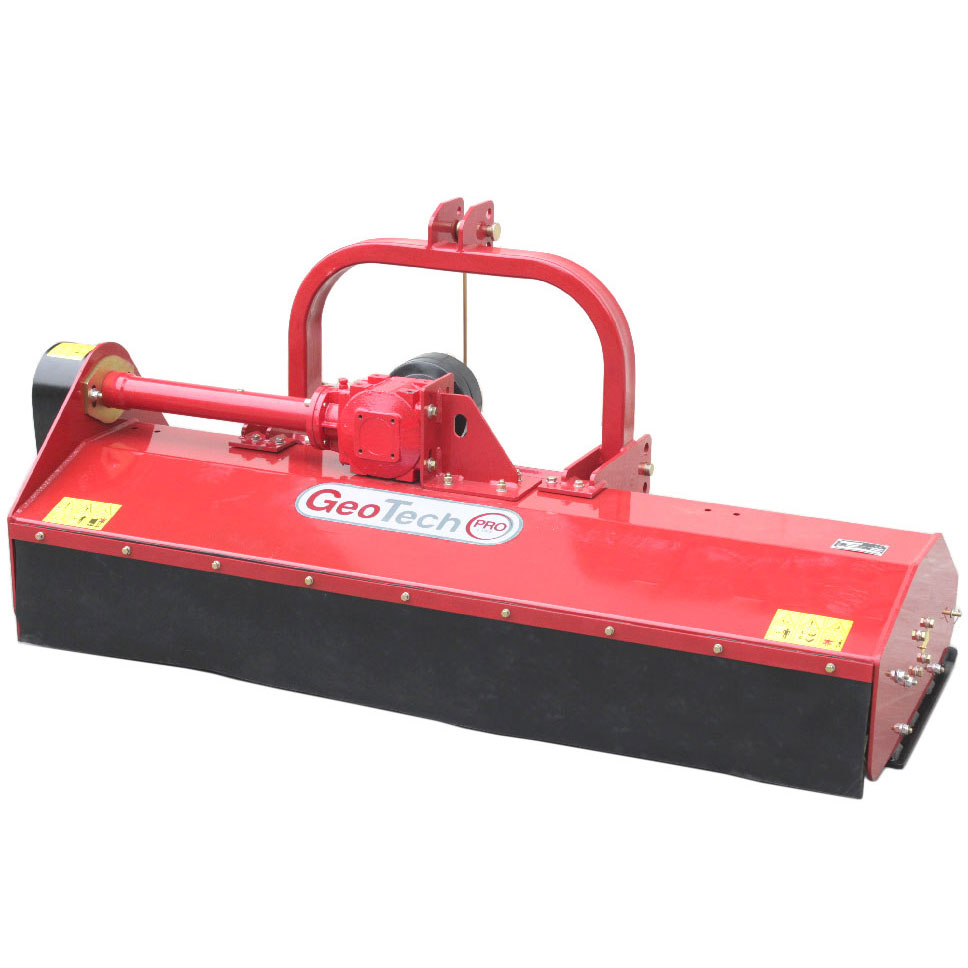 Fixed linkage tractor flail mower - medium - heavy series - Geotech