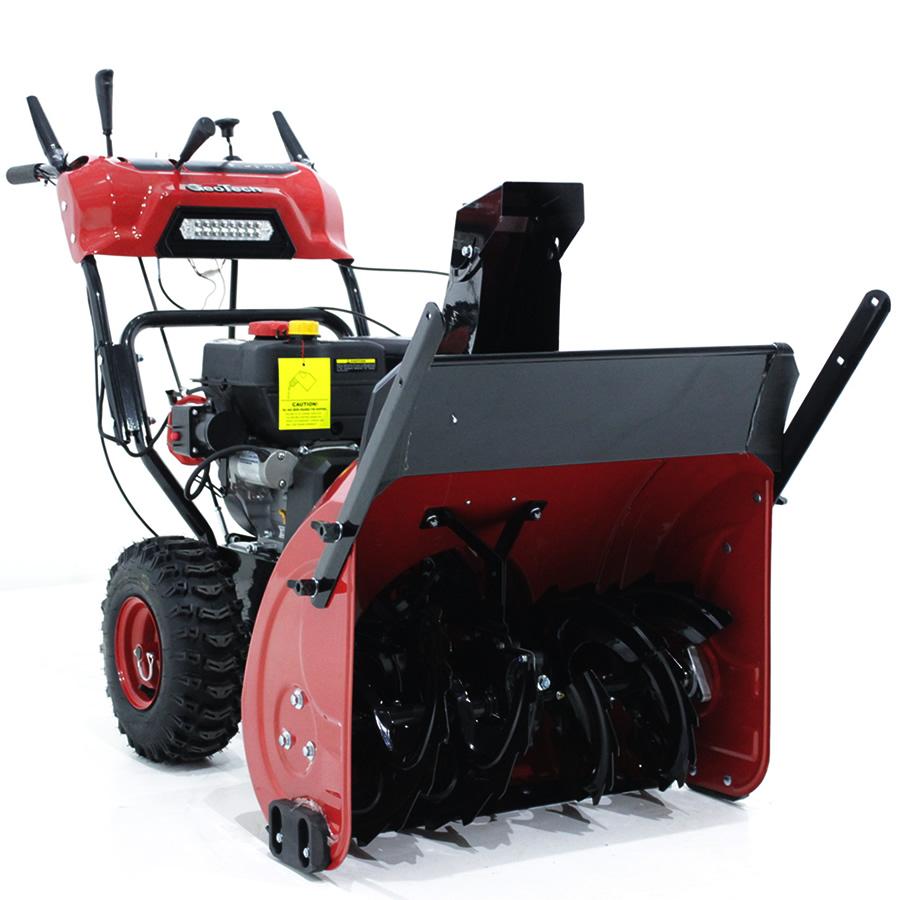 GeoTech Schneefräse STP766 WEL mit 7PS Loncin Benzinmotor