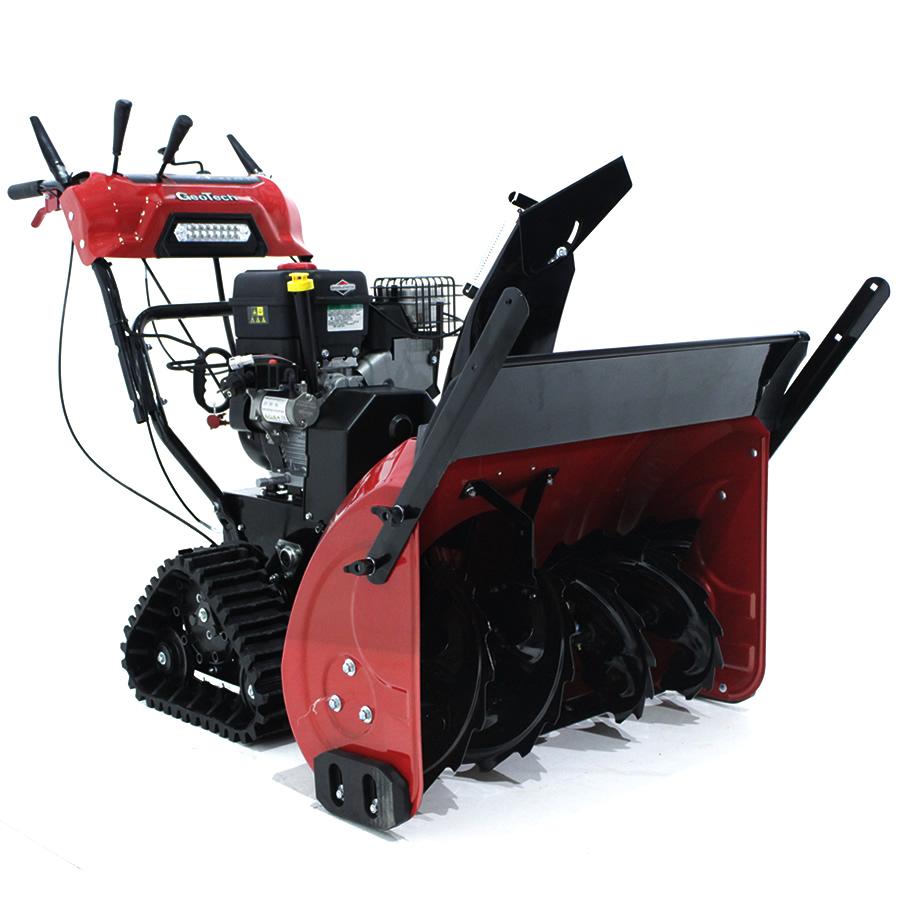 GeoTech Schneefräse STP976TEBS mit Raupenantrieb