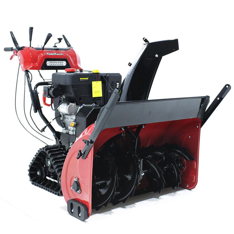 GeoTech Schneefräse STP1587 TEL mit Raupenantrieb
