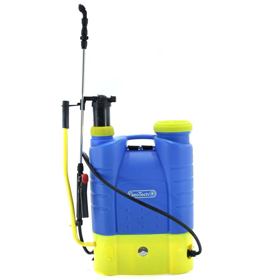 Batteriebetriebene Rückenspritze, manuell GeoTech KF – 16C – 23 16 Liter