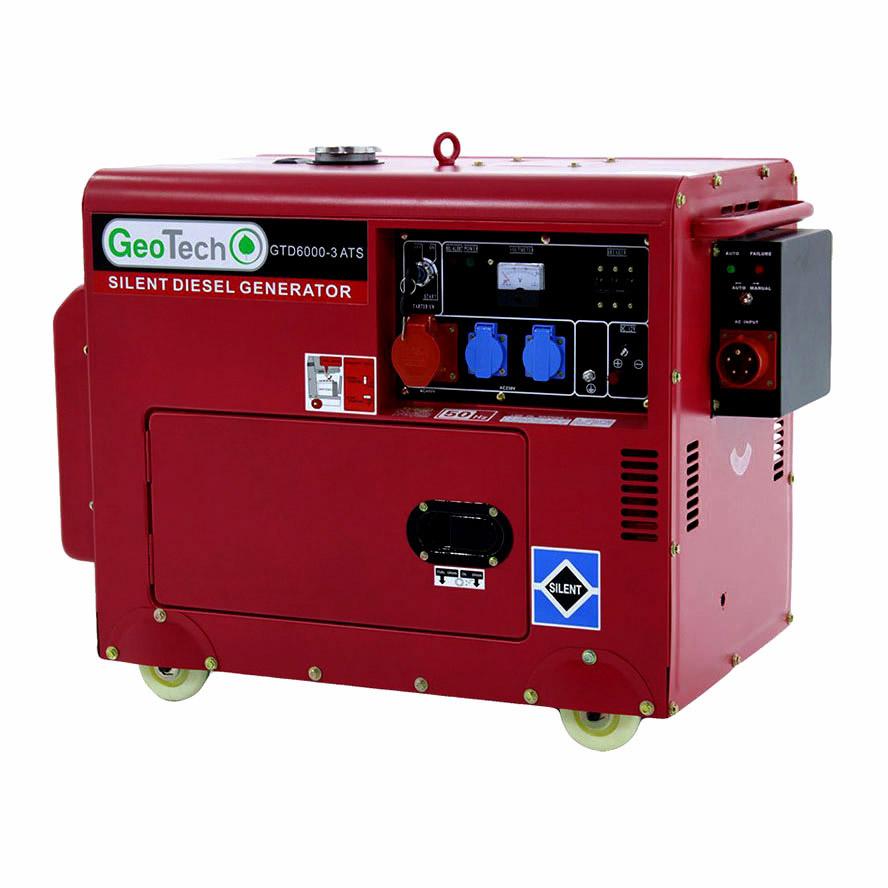 Generatore diesel silenziato GTD 6000-3 ATS integrato