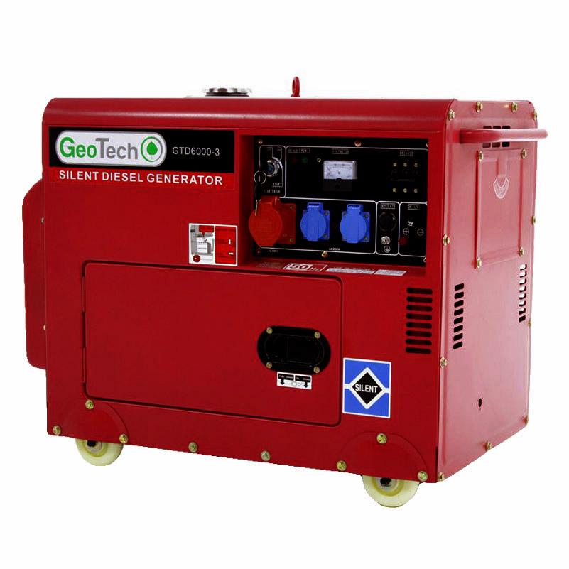 Generatore Diesel Silenziato GTD 6000-3