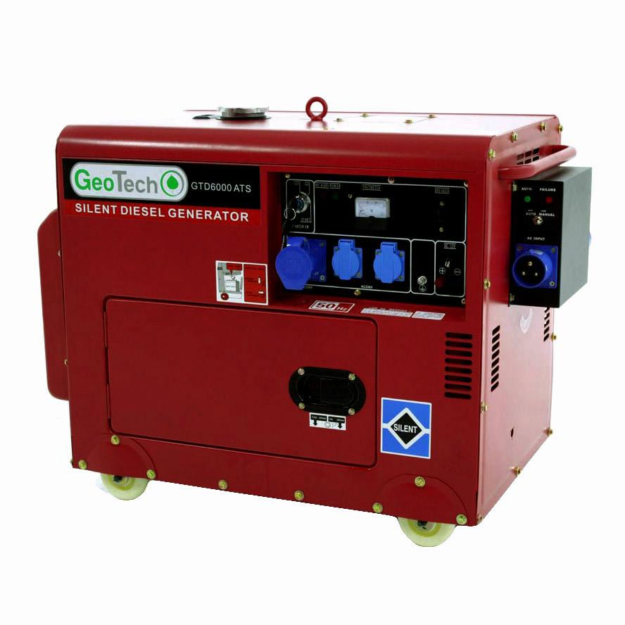 Generatore di corrente GTD 6000 ATS integrato