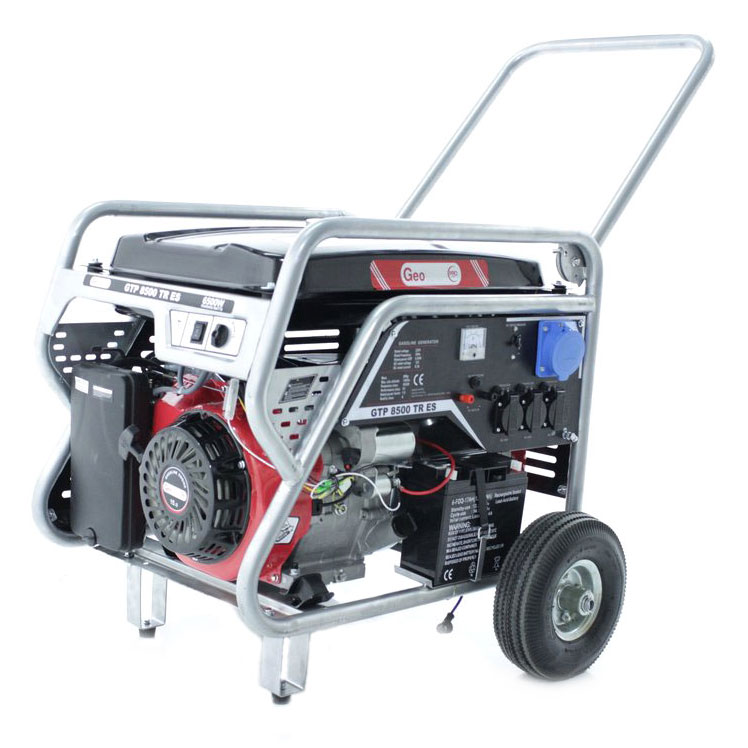 Generador eléctrico GTP 8500 TR ES