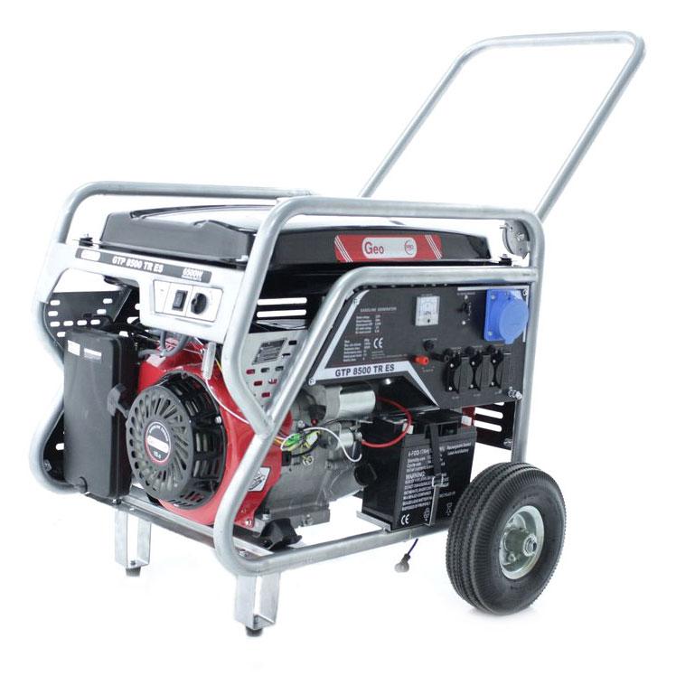 Einphasiger Stromerzeuger 6,5 Kw GeoTech Pro GTP8500TRES