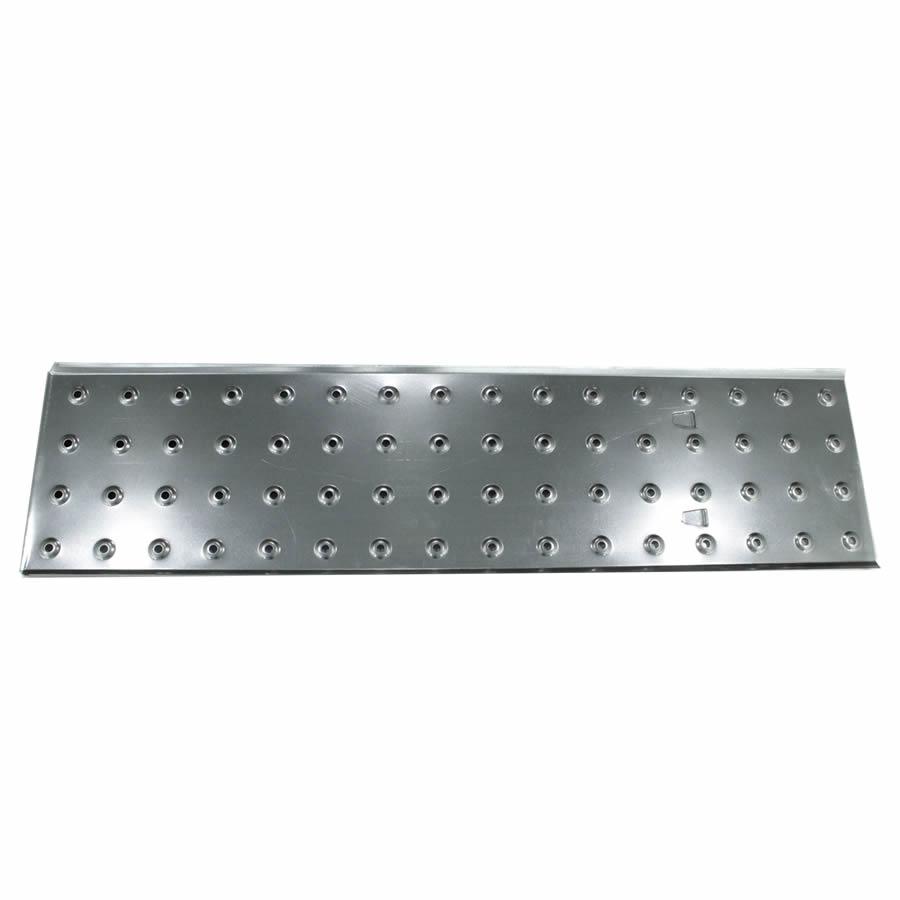 Pedana 4×4 in alluminio per scale