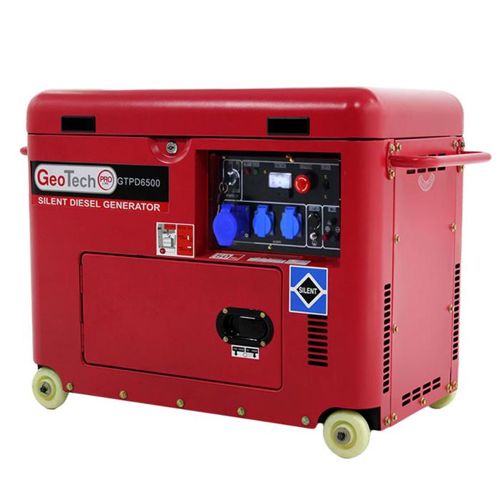 Generatore di corrente diesel silenziato GTPD 6500 S