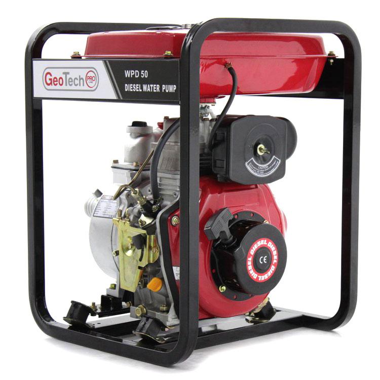 Selbstansaugende Diesel Motorpumpe GeoTech WPD 50