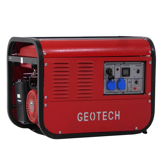 Generatore di corrente monofase GGSC6500ES con avviamento elettrico – 5,5 Kw