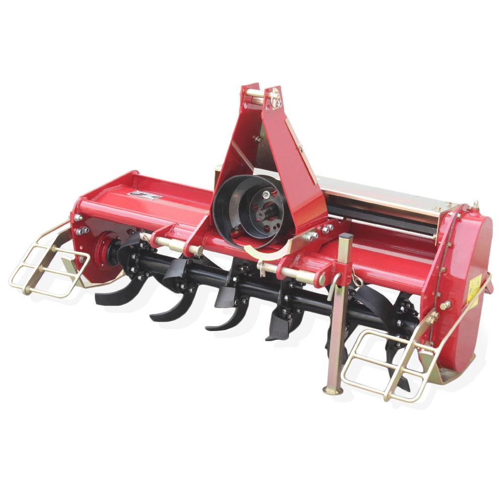 Zappatrice per trattore serie leggera spostamento manuale