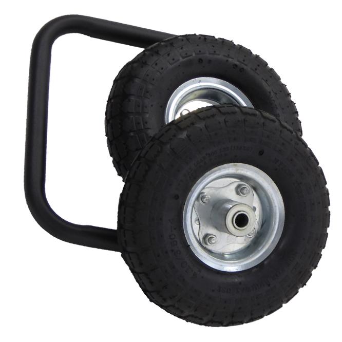 (Italiano) Kit ruote pneumatiche da 10 pollici con manico