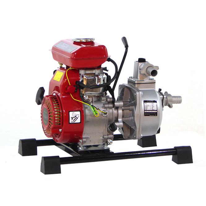 Selbstansaugende Benzin Gartenpumpe GeoTech WP250, 25 mm – 1″