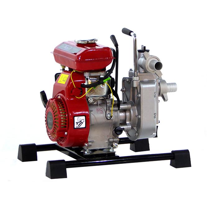 Selbstansaugende Benzin Gartenpumpe GeoTech WP300, 30 mm Anschlüsse – 1,2″