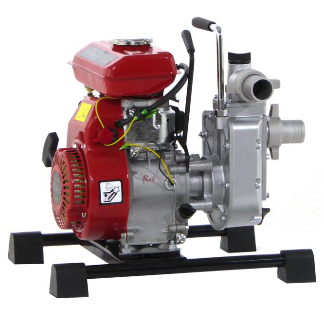 Selbstansaugende Benzin Gartenpumpe GeoTech WP380, 40 mm – 1.5″ Anschlüsse