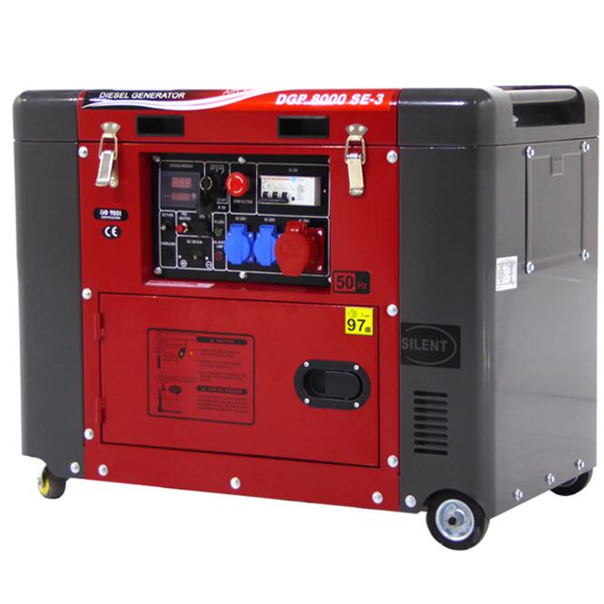 Generatore di corrente diesel DGP8000SE-3 trifase