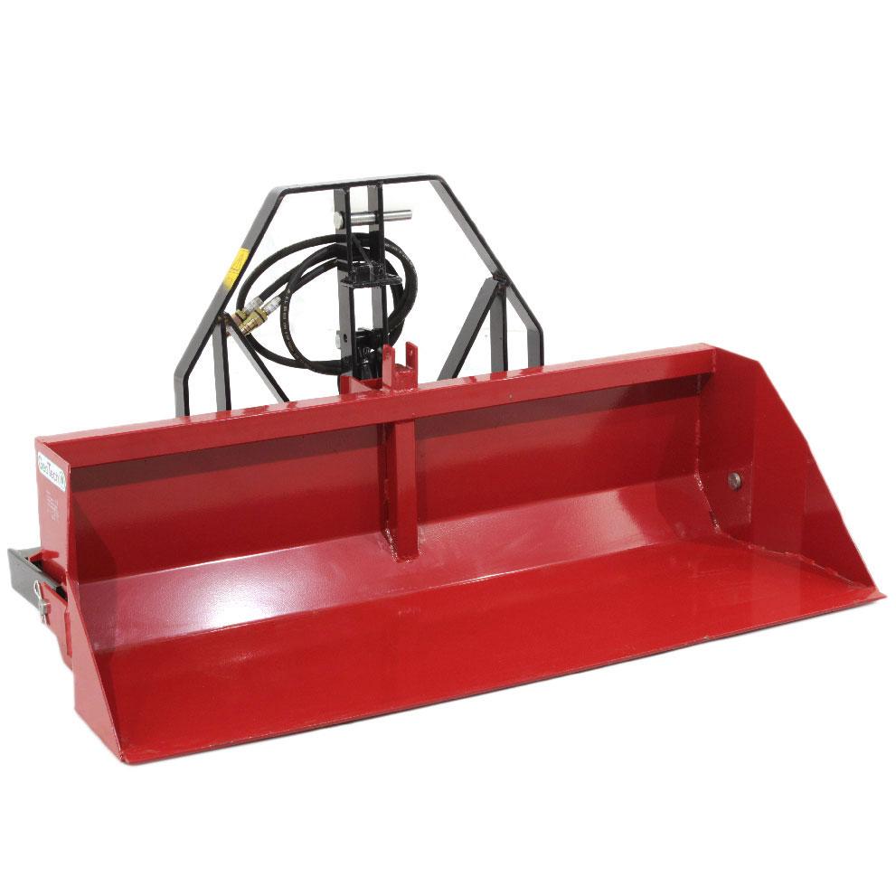 Pala per trattore con ribaltamento idraulico