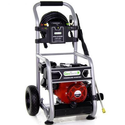 Idropulitrice a scoppio GeoTech GPW 10/220 BP – motore a benzina da 208cc e 7 HP – 213 bar