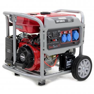 Stromerzeuger 5,0 kW einphasig GeoTech Pro GGP 6500 ES