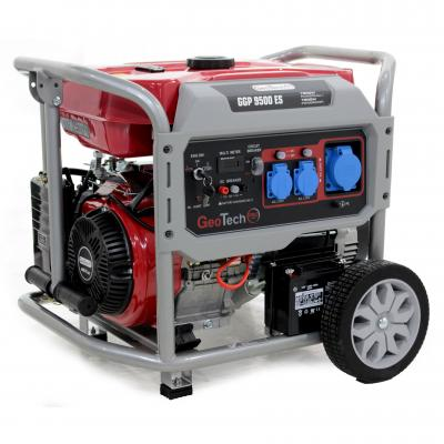 Generatore di corrente 7,5 KW monofase GGP 9500 ES