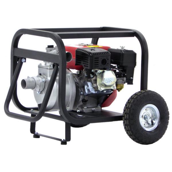 Pompe thermique sur chariot GeoTech WP500 raccords 50 mm, auto-amorçante