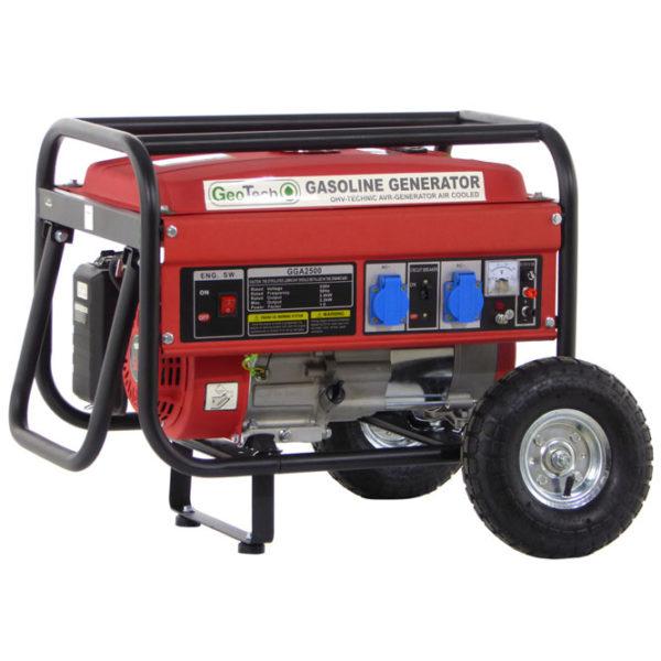 Groupe électrogène 2,0 kw à essence GGA2500 sur chariot