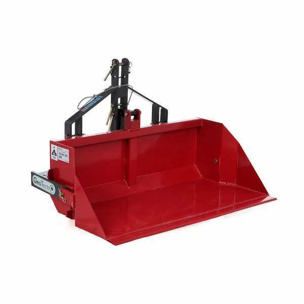 Paletta posteriore per trattore GeoTech con lama da 100 cm – Serie media – Portata 300 Kg