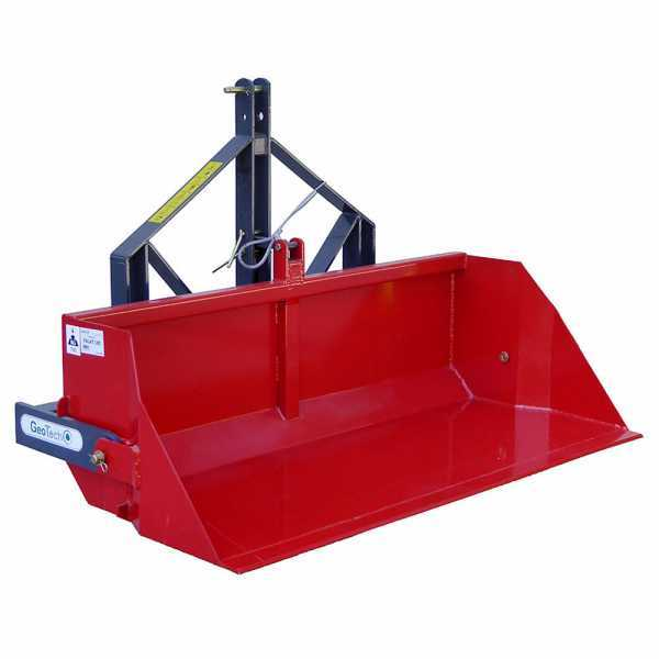 Paletta posteriore per trattore GeoTech da 180 cm – Serie pesante – Portata 700 Kg