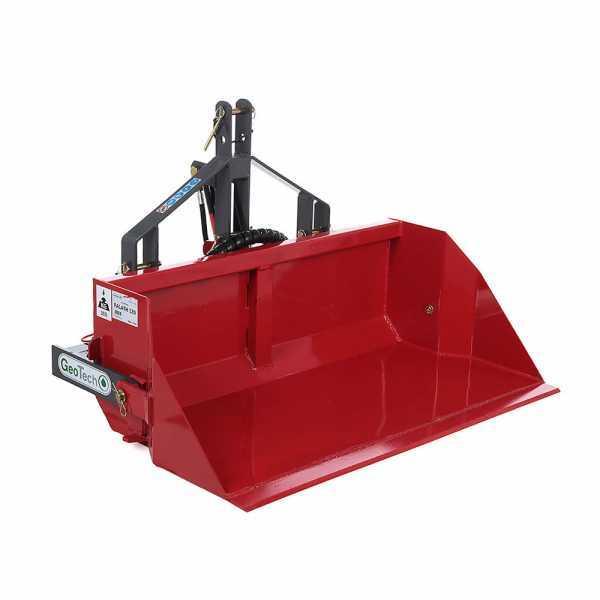 Paletta posteriore idraulica per trattore GeoTech da 120 cm – Serie media – Portata 300Kg