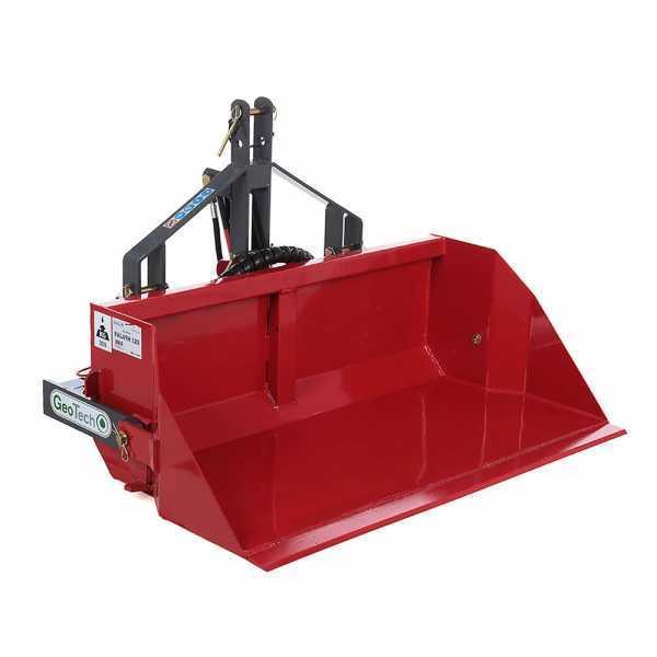 Paletta posteriore per trattore GeoTech da 140 cm – Serie medio-pesante – Portata 500 Kg