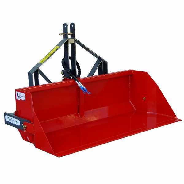 Paletta idraulica per trattore GeoTech da 180 cm – Serie pesante – Portata 700 Kg