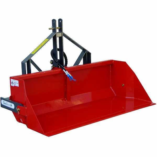 Paletta idraulica per trattore GeoTech da 200 cm – Serie pesante – Portata 700 Kg