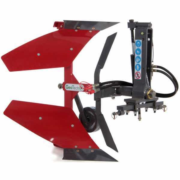 Aratro idraulico reversibile voltaorecchio per trattore Geotech DKH