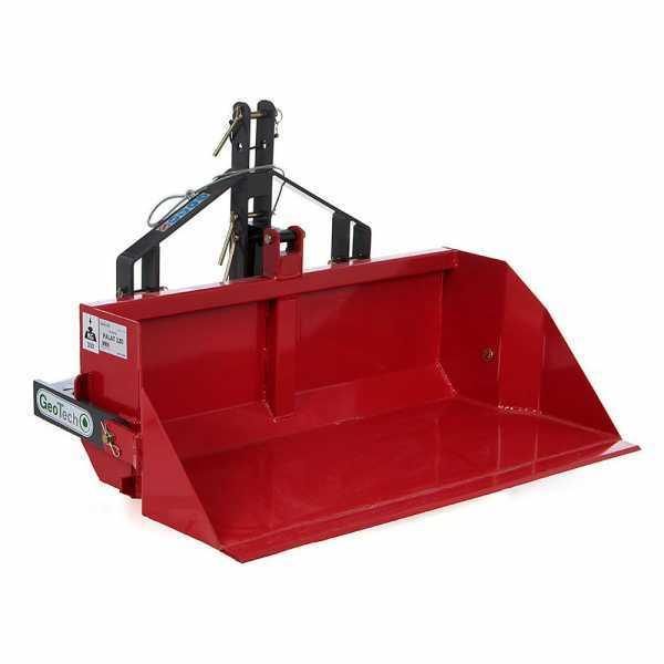 Paletta posteriore per trattore GeoTech da 160 cm – Serie medio-pesante – Portata 700 Kg