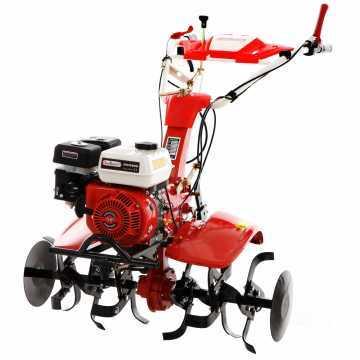 Motozappa GeoTech PGT 900 motore a benzina 7 HP con ruote pneumatiche