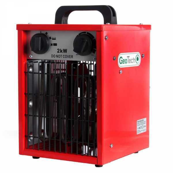 Generatore di aria calda elettrico GeoTech EH 200 S con ventilatore – monofase