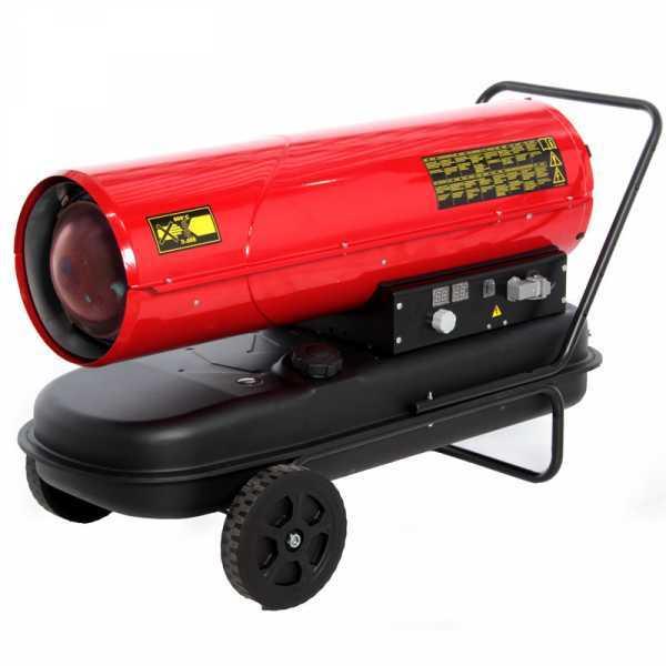 Generatore di aria calda diesel GeoTech DH 5000 – a combustione diretta – carrellato