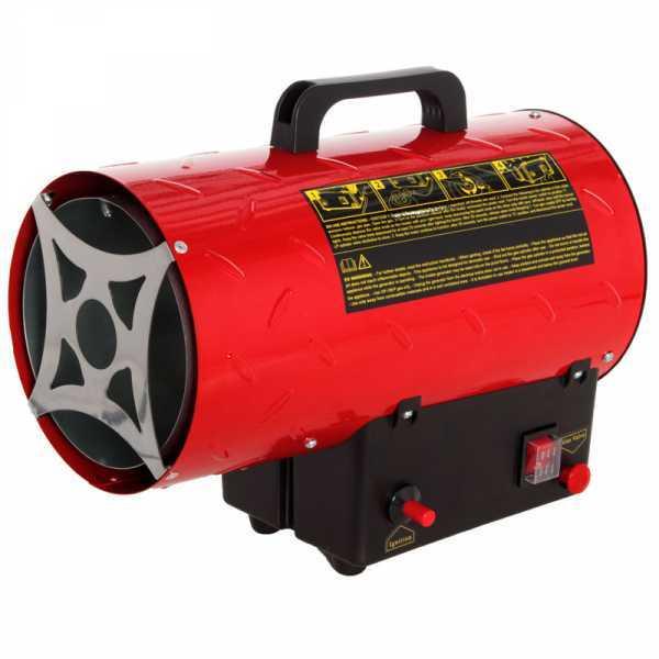 Generatore di aria calda a gas GeoTech GH 1700 I – avviamento piezoelettrico manuale