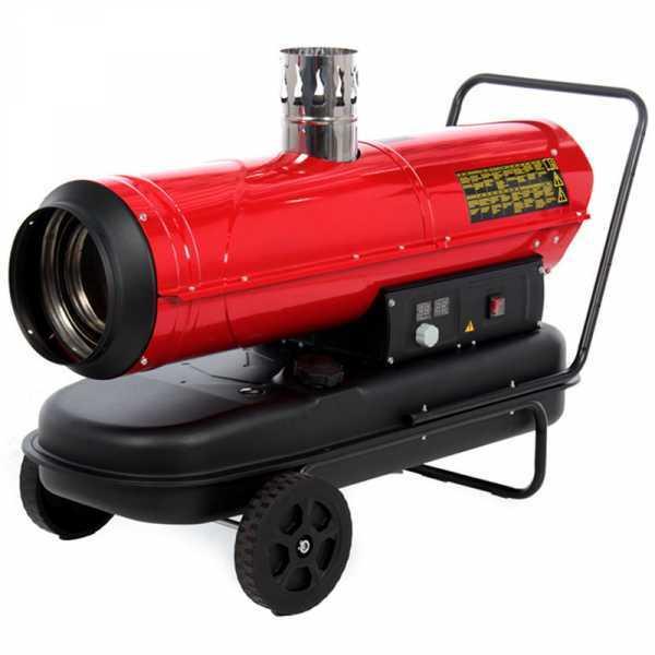 Generatore di aria calda diesel GeoTech IDH 3000 – a riscaldamento indiretto – carrellato