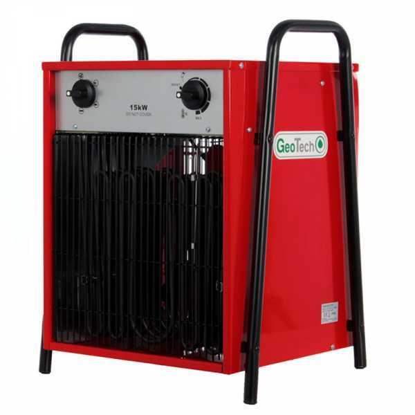Generatore di aria calda elettrico GeoTech EH 1500 T con ventilatore – 15 KW – trifase