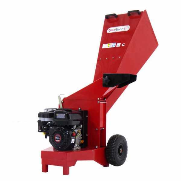 Biotrituratore a scoppio GeoTech Pro GSP65L con motore a benzina 6.5 HP – biocippatore