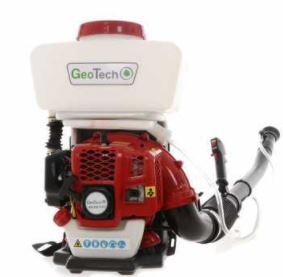 Atomiseur thermique pour pulvérisation à dos modèle GeoTech MD 530 EVO