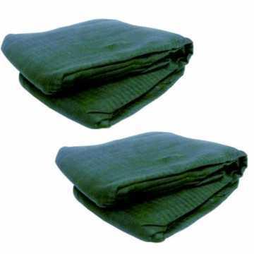 2 filets antiépines et antidéchirures pour cueillette olives 6x12m – Toile filet 95g/m2