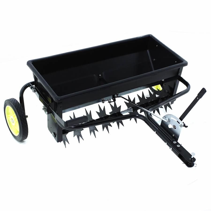Plug Aerator Fertilizer Spreader