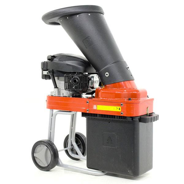 Benzin-Häcksler Schredder GeoTech GSB50 mit Benzinmotor 5,5 PS