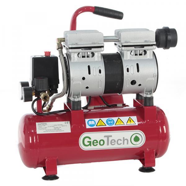 Elektrischer kompakter fahrbarer Kompressor GeoTech S-AC-9-8-07