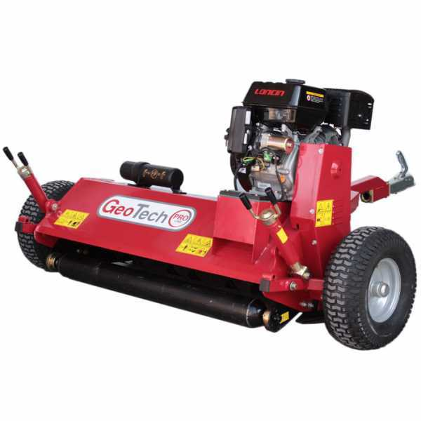 Mulcher mit Benzinmotor für Quad GeoTech Pro GTFM 120 LE