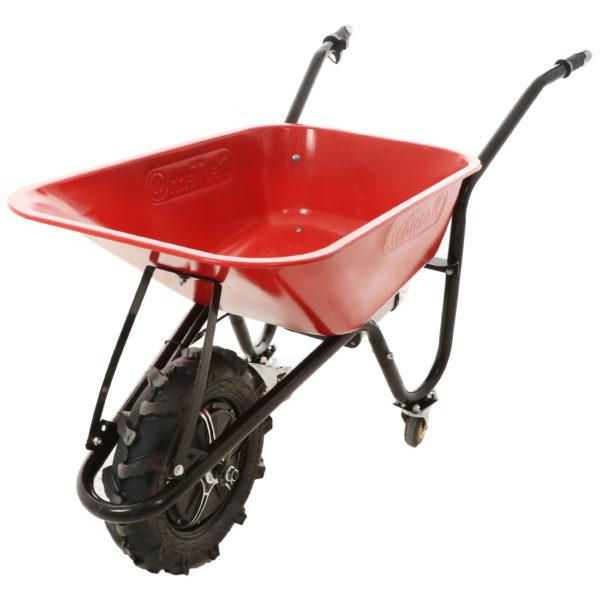 Carriola a batteria con ruote traktor Geotech CAR 150T – Batteria da 40V e 6 Ah