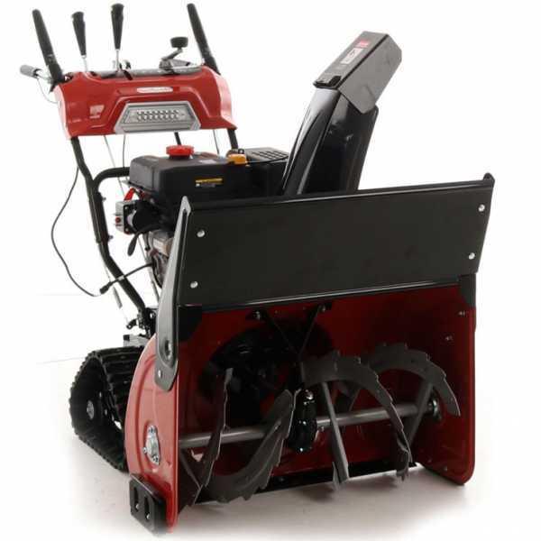 GeoTech Schneefräse STP1176 TEL mit Raupenantrieb- 11 PS Loncin Motor