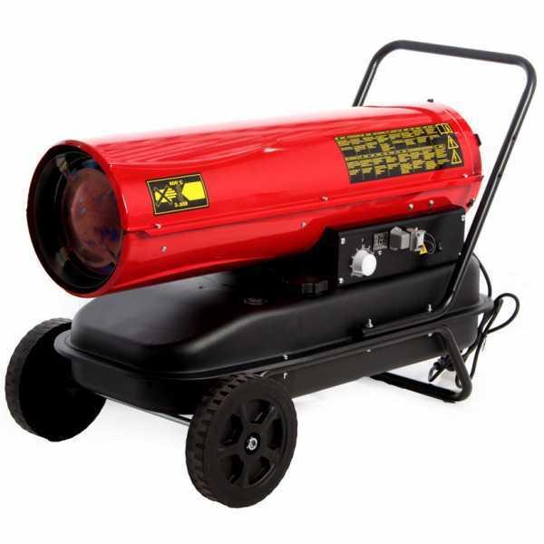 Generatore di aria calda diesel GeoTech DH 3000 – a combustione diretta – carrellato